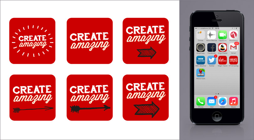 Create Amazing bookmark icon